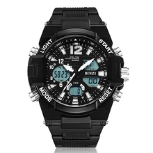 Men Sport Brand LED Outdoor Digital Shock Luxury Watch Electronic Wrist Military Waterproof Big Face Running