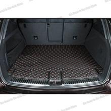 Lsrtw2017 волокна кожи багажник автомобиля коврик для porsche