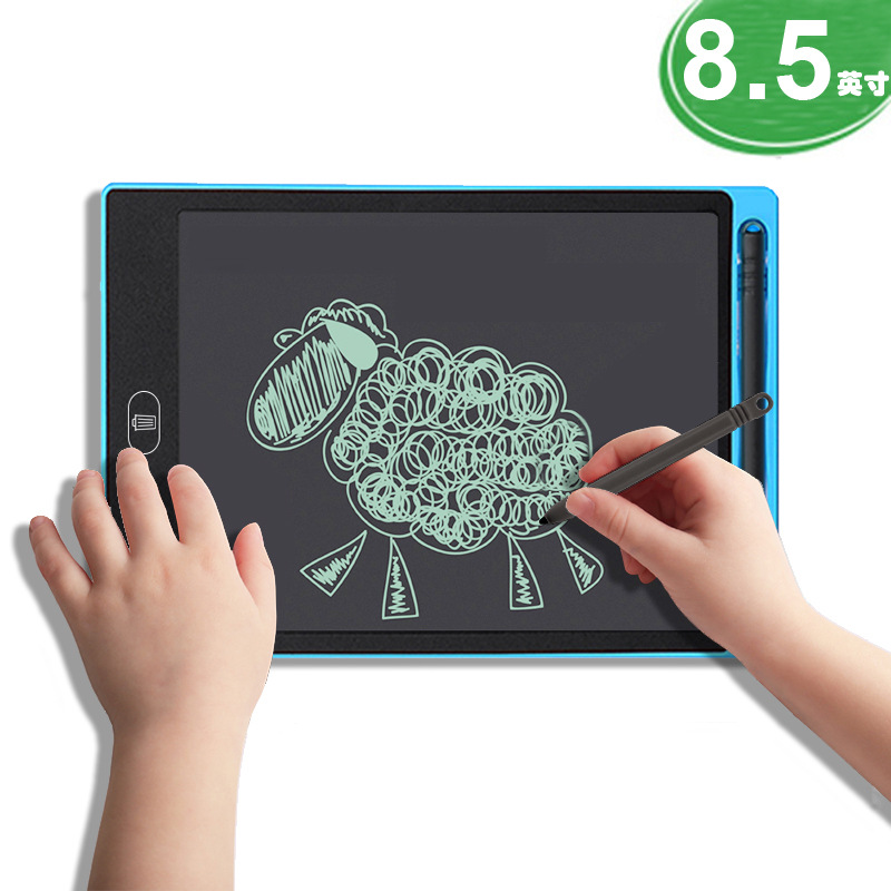 LCD Tablet 8.5 New Style CHILDREN'S Drawing Board Graffiti Doing Homework Smart Light Small Blackboard