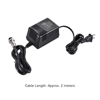 17V 600mA Mixing Console Mixer Power Supply AC Adapter 3 Pin Connector 110V Input US Plug
