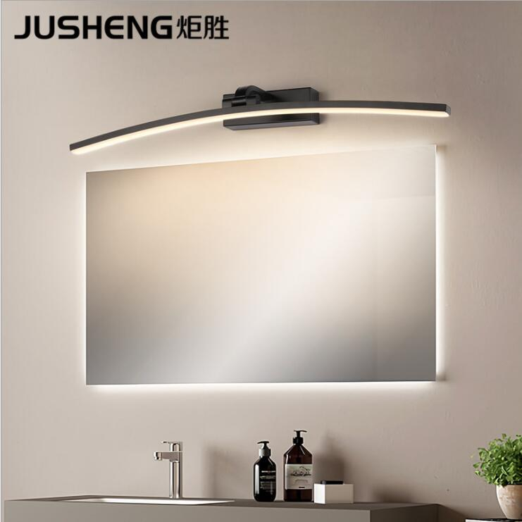 2pack Stainless Steel LED Bathroom Mirror Light Front Makeup Lighting Wall Lamps