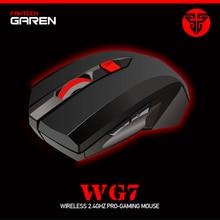 FANTECH WG7 ไร้สาย 2.4 GHzเมาส์ 2000 DPI 6 มาโครเม้าส์ 2.4 GHzรีโมทคอนโทรล 10 เมตรระยะทางแผ่นgamer