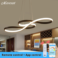 Modern New Creative pendant lights LED Kitchen aluminum silica suspension hanging cord lamp for dinning room lamparas colgantes