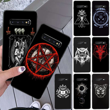 Pentagram 666 Demonic Satanic Phone Cover For Samsung S8 S8 Plus S9 S9 Plus S10 S10 Plus S10E Lite S10-5G S20 UITRA Plus(China)