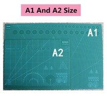 Tapis de coupe A1 A2 A3 A4 grille plaque Double face Design modèle de gravure couteau intermédiaire échelle coupe carton fournitures de bureau d'école