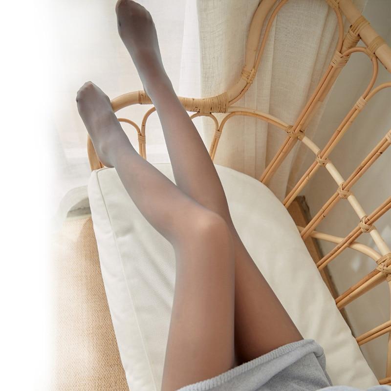 Winter Warm Thicken Imitation Skin Black Coffee Women Tights Pantyhose Sexy Tights Thick Girl Stockings Medias De Mujer Rajstopy