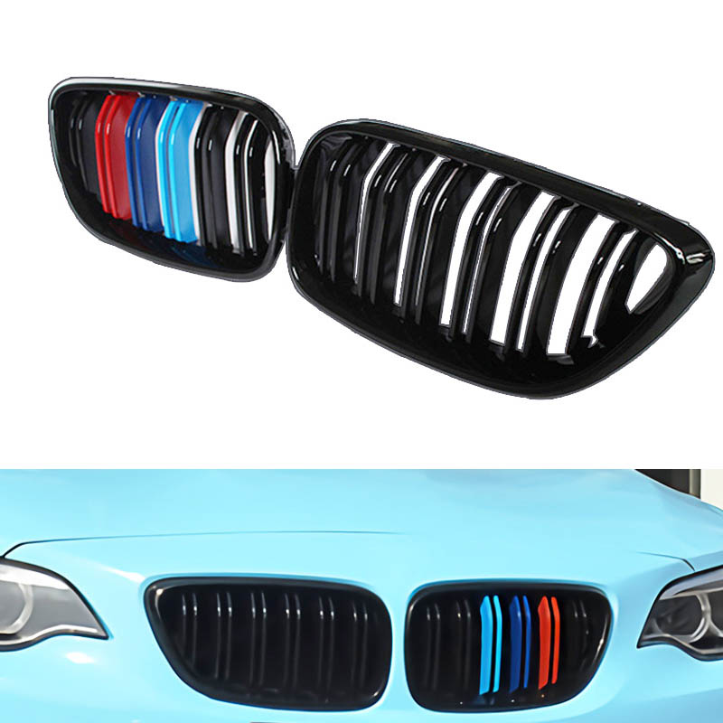 BMW MOTORSPORT Colored Carbon Fiber License Plate Frame M 1M M2 M3 M4 M5 M6 335