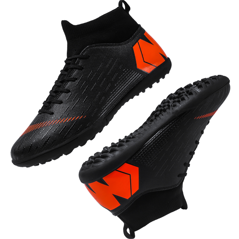 Outdoor Football Boots Men Sneakers Soccer Boots Turf Football Boots Kids Soccer Cleats AG/FG Spikes Training Sport Futsal Shoes 17