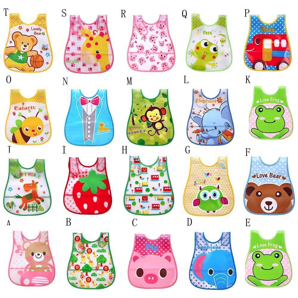 Newborn Toddler Infant Baby//Boy//Girl Bibs Waterproof Saliva Cartoon Towel YL