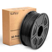 Alta transparência petg filamento 3d impressora 1.75mm boa dureza petg recarga 1 kg com spool abajur material consumível
