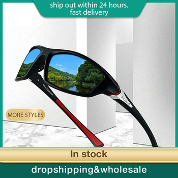 Unisex 100% UV400 Polarisierte Fahren Sonnenbrille Für Männer Polarisierte Stilvolle Sonnenbrille Männlichen Goggle Eyewears 2020