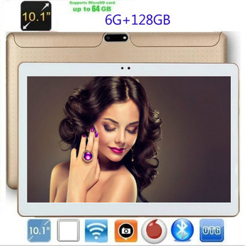 2020 Super 10 Inch Android 8.0 Ten Core Tablet PC 6GB RAM 128GB ROM 1280*800 IPS Dual Cameras 10.1 4G Tablet  Kids Tablet