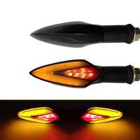 Für KTM RC 390 200 125 Duke 390 125 690 Duke 990 SM R T Motorrad LED Universal Fließende Blinker licht Wasserdichte Blinker
