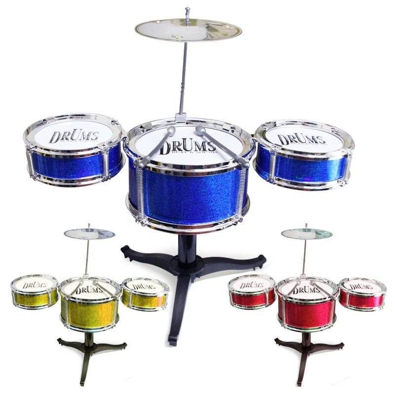 Джазовый барабанный Набор Мини пять модель в форме барабана игрушечный джазовый барабан ударный инструмент игрушечный барабан Музыкальны...
