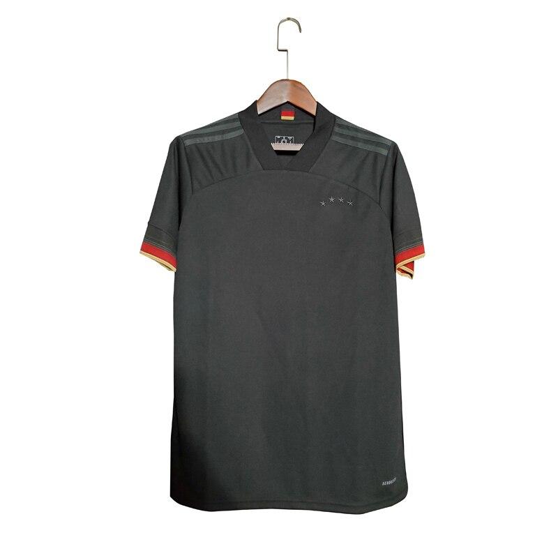 Германия Джерси 2022 Футбол Черная Мужская рубашка 2020 2021 футбольные шорты высшего качества