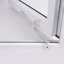 Пластиковые стальные скользящие окна крепление от ветра ограничитель телескопическое окно фиксированный ограничитель угол контроллер двери оконные принадлежности