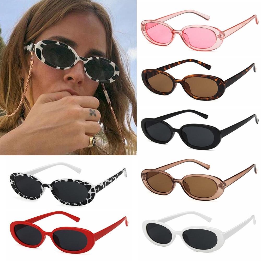 1 PC occhiali da sole retrò per donna occhiali da sole con montatura ovale piccola tonalità di moda occhiali polarizzati occhiali da sole UV400 1
