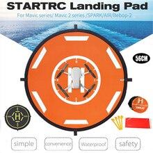 STARTRC 56 سنتيمتر المحمولة طوي الهبوط الوسادة ل DJI Mavic صغيرة DJI فانتوم Mavic الطائرة بدون طيار فيمي X8SE 2020 ل أجهزة الاستقبال عن بعد