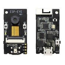 ESP EYE ESP32 2 ميغابيكسل 4 ميجابايت فلاش 8 ميجابايت PSRAM دعم wifi صورة نقل سلك microUSB التصحيح و امدادات الطاقة
