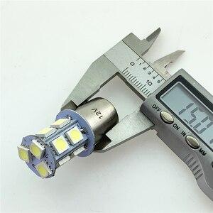 Image 5 - רכב מהבהב בלם אור להדגיש 5050smd רכב Led היגוי היפוך אור 1156/1157 13 אור Led