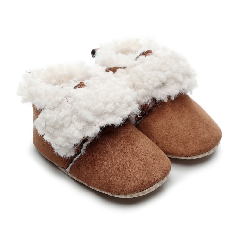 Fashion Baby Girl Boots Newborn Boy Snow Boots Infant Winter Boot Kids New Soft Bottom Shoes