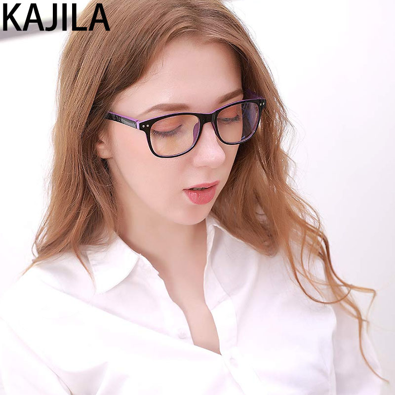 Computer Glasses Women Gaming Goggles Transparent Frame Eyeglasses Anti Blue Light Blocking Glasses Men ó<font><b>culos</b></font> gafas proteccion image