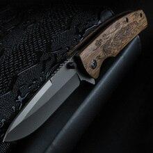 Xuanfeng faca dobrável ao ar livre bolso portátil faca de acampamento tático multi função portátil faca de sobrevivência selvagem