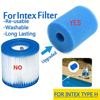 For Intex Type H Washable Reusable Swimming Pool Filter Foam Sponge Cartridge Durable Pools &spas Outdoor Hot Tubs & Accessories