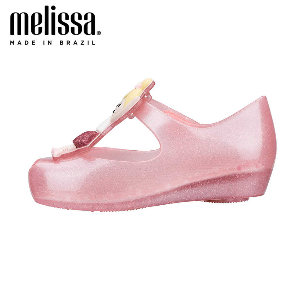มินิMELISSAสาวน่ารักรองเท้าแตะUltraGirl 2020 ฤดูร้อนเด็กรองเท้าMelissaรองเท้าแตะสไลด์รองเท้าแตะเด็กวัยหัดเดิน