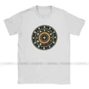 Image 2 - Saint Seiya שעון T חולצות לגברים כותנה בציר חולצות צוות צוואר אבירי של גלגל המזלות אנימה Tees קצר שרוול חולצות מודפס