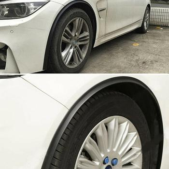 Wheel Arch Covers Extensions Universal Rubber Fender Lip Scratch Eyebrow Wheel-arch Flares Protector Fender Trim Proof Rubb O9D7 image
