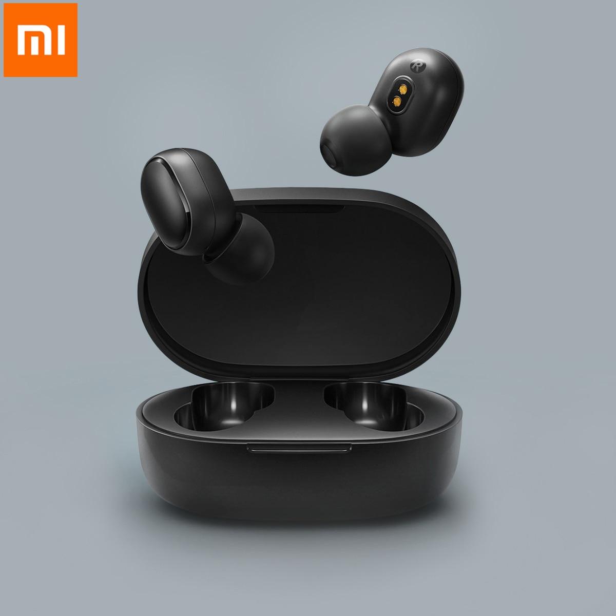 Xiaomi Mi True Wireless Earbuds Basic Bluetooth 5.0 Stereo Headset Wireless AI Handsfree Realme Air Bass Headset Global Version