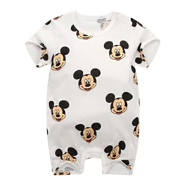 Romper Baby  Girl Summer Clothes 100% Cotton Short Sleeved Jumpsuit For Newborn Babies Jumpsuit Baby  Boy Clothes