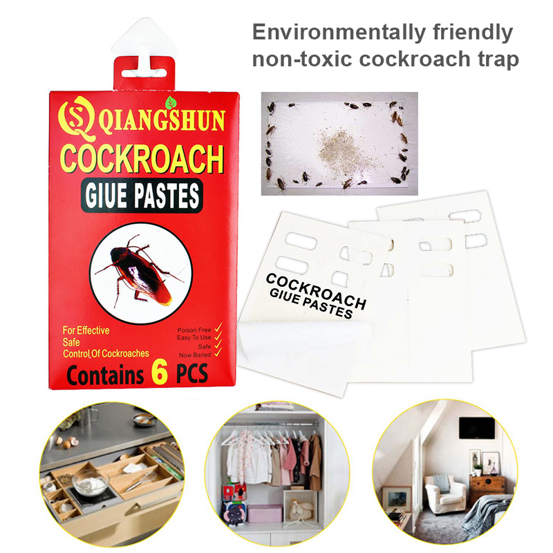 Super Sticky Glue Board Mouse Traps Bugs Spiders Cockroach Insects Trapper SNO88(China)