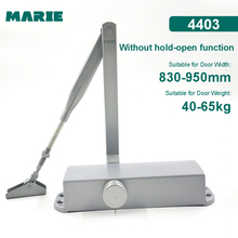 цена на Marie Hydraulic Door Closer Opening Buffer Optional Aluminum Alloy Door Closer Automatic Spring Closing Door Home Interior Door