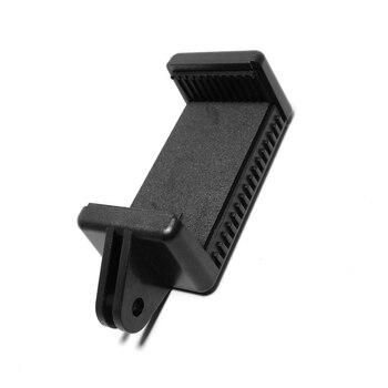 Accesorio de cámara de acción portátil montaje ajustable con 1/4 tornillo agujero soporte para teléfono soporte Clip adaptador de trípode para GoPro