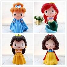 Cartoon Mermaid Princess Vinyl Girls Bank Coin Bank Money Box Saving Money saving tank Pen container Home Decor Favor Kids Gift