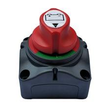 цена на 12V/24V Dual Battery Selector Switch 300A Battery Main Switch 4 Position Switch Selector for Car RV Boat High quality