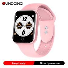 RUNDOING NY07 Donne Bluetooth Astuto della vigilanza di frequenza cardiaca di pressione Sanguigna inseguitore di Fitness uomini di Sport di Modo smartwatch per le signore degli uomini