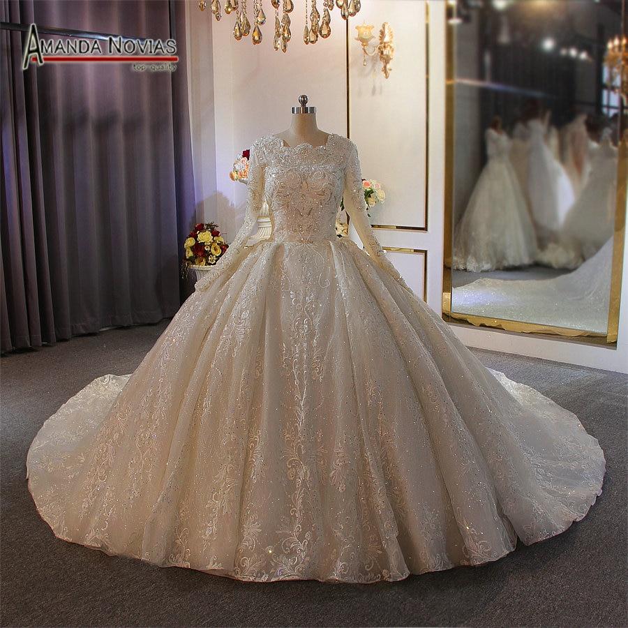 Full Lining Muslim Wedding Dress 2020 Heavy Beading Lace Bridal Dress For Muslim Girls Aliexpress,Simple Summer Outdoor Wedding Beach Wedding Wedding Dresses