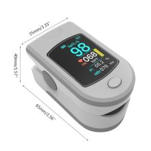 Bluetooth Fingertip Pulse Oximeter Heart Rate Blood Oxygen Saturation Monitor R9UC