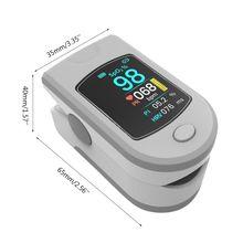 Bluetooth Fingertip Pulsoximeter Herz Rate Blut Sauerstoff Sättigung Monitor R9UC