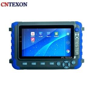 Testeur de caméra ip CCTV multifonction 5 pouces 5MP CVI, test de caméra AHD 5MP H.265/H.264 4K caméra IP WiFi PTZ testeur vidéo CCTV