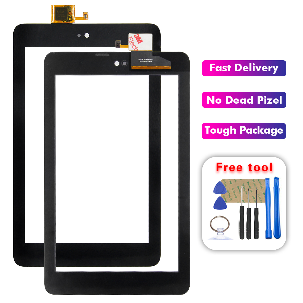 For Dell T01C Venue 7 3730 3740 Touch Screen Digitizer Front Panel Glass Sensor