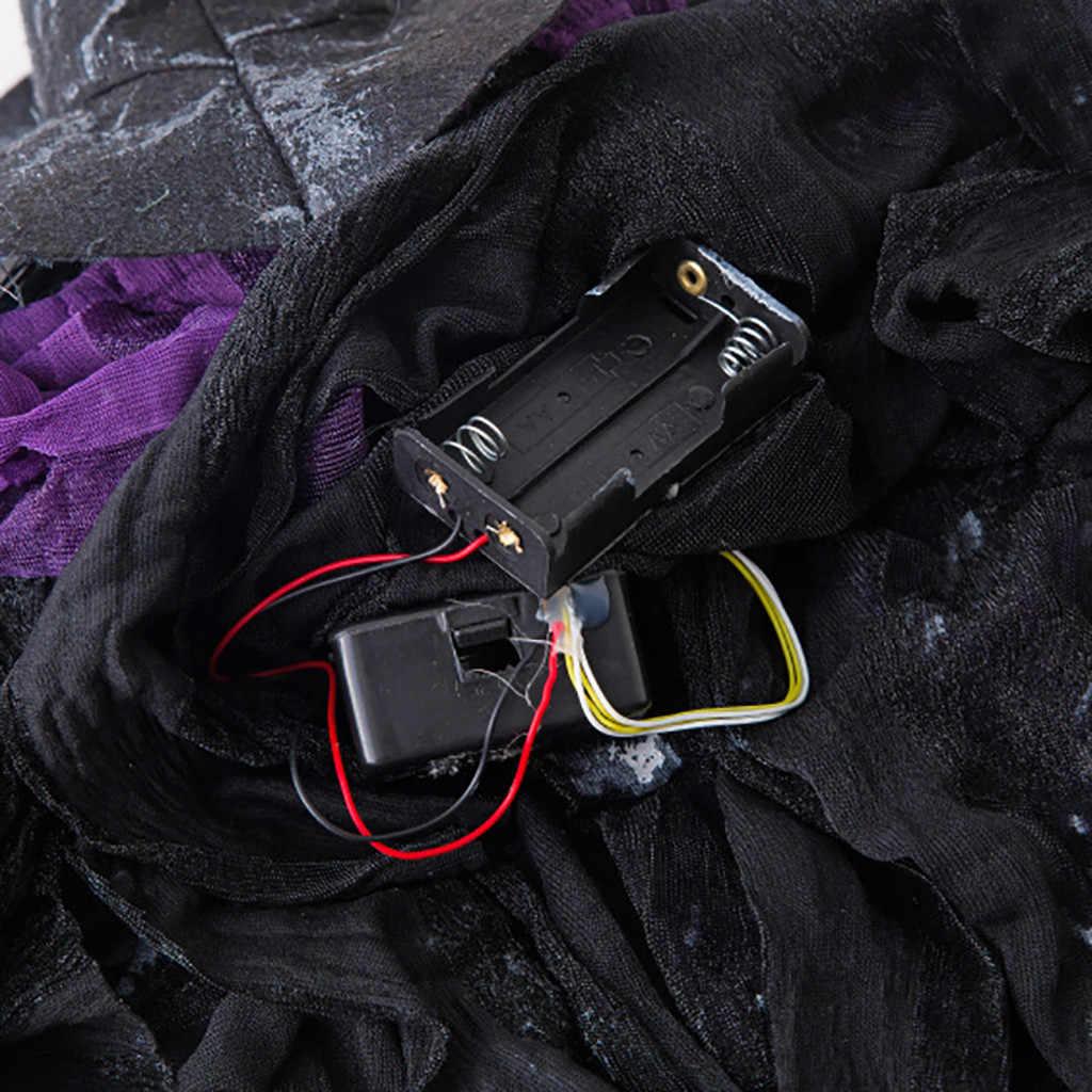 Halloween Bar décoration contrôle sonore pointeur Deuce pendentif effrayant sorcière pendentif professionnel résine écologique moderne Aug14