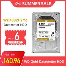 """WD Oro 4TB Interno Hard Drive Disk da 3.5 """"7200RPM 128M di Cache SATA III 6 Gb/s 4tb HDD HD Hard Disk per Desktop Del Computer"""
