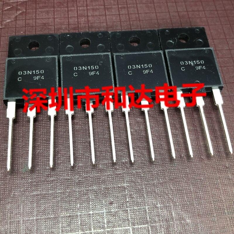 Новинка, 03N150 NDUL03N150CG TO-3PF 1500V 2.5A, 5 шт.