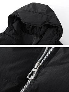 Image 5 - Pioneer Camp Fashion Men Winter Duck Down Jacket Solid Warm Simple Waterproof Zipper Pocket High Quality Jackets Men AYR903431