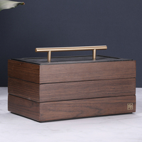 New Wood Jewelry Box Storage Gift Display Box Jewelry Lagre Gift Box Packaging Casket Marriage Holiday Gift Makeup Organizer Box