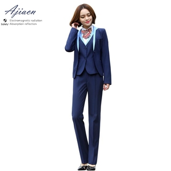 New Arrivals anti-Electromagnetic radiation Western-style clothes Bank and securities company EMF shielding slim fit suit